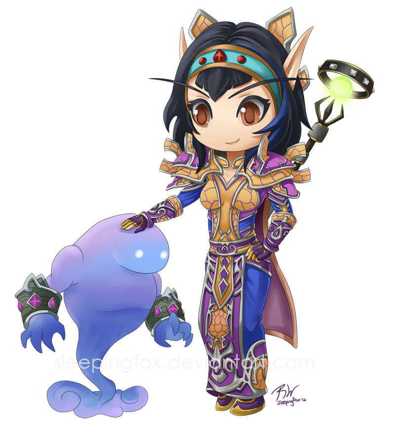 Mage chibi BE